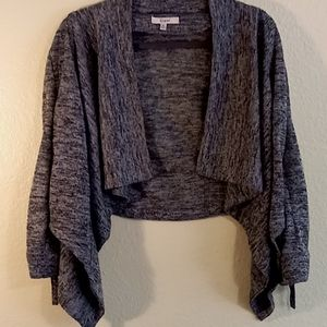 Womens used black with white sweater
